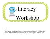 Owl Literacy Workshop/Centers Display