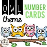 Owl Number Flashcards