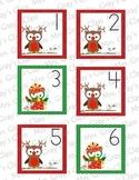 Owl Themed Calendar Cards - December