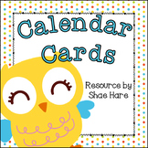 Owl Themed Calendar Cards {Hoot Bird} {Morning Math} Numbe