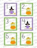Owl Themed Calendar Cards - October