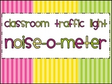 Owl Themed Classroom Traffic Light: Noise-o-Meter Clip Chart
