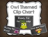 Owl-dorable Behavior Clip Chart