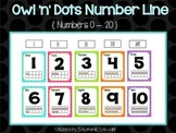 Owl 'n' Dots Number Line