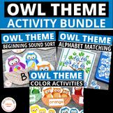 Owls: Owl Activities for Preschool Early Childhood