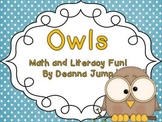 Owls Math and Literacy Activities