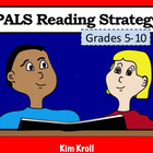 PALS Reading Strategy Cooperative Worksheet