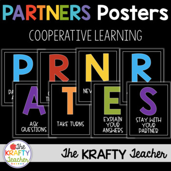 Classroom Management Working with PARTNERS Poster