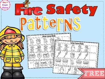 {FREE} PATTERNS: Fire Safety