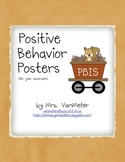PBIS- Camping Theme (Woodland)- Posters