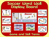 Soccer Word Wall Display: Skill, Graphics & Game Terms