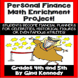 PERSONAL FINANCE MATH ENRICHMENT PROJECT! Financial Planne