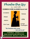 PHOEBE the SPY Common Core Aligned Novel Study