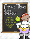 PIRATES - PowerPoint, Open House, Curriculum Night, Meet t
