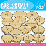 Pies for Math - Clipart for Teachers and Classrooms