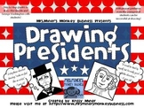 PK-3 Draw the Presidents: Abe Lincoln & George Washington