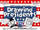 PK-3 Draw the Presidents: Abe Lincoln & George Washington