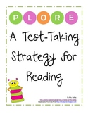 PLORE: High Stakes Test Taking Strategy