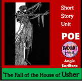 POE- THE FALL OF THE HOUSE OF USHER WORKSHEETS