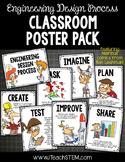 STEM Engineering Design Process Posters 2 Versions - Upper