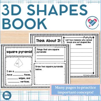 3D Shapes Little Book