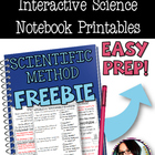 PRINT AND GO Interactive Science Printables for SCIENTIFIC