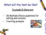PSSA Writing Grade 8