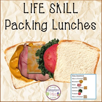 Thanks Life Skill - Packing Lunches
