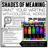 Painting Your Writing With Colorful Words {Shades of Meani