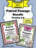 Paired Passages Bundle: Grades 6-8