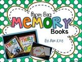 Paper Bag Memory Book