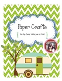 Paper Crafts for Day Camp, VBS or School