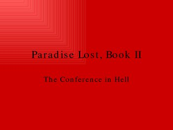 Paradise Lost, Book II