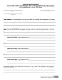 Paragraph Format (Informative or Persuasive paper)