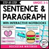 Paragraph Writing Aligned to Common Core