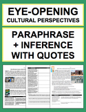 Paraphrase, Analysis & Inference Skills to Understand Othe