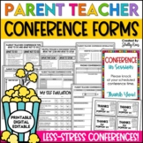 Parent Conference Forms Packet - Worry-Free Parent Teacher