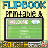 Parent Flip Book Template
