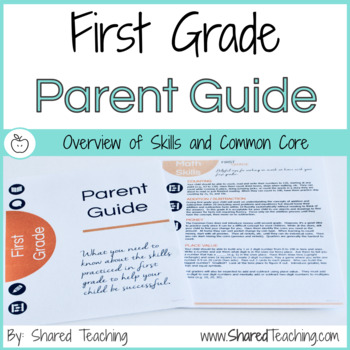 First Grade Skills and Common Core Guide for Parents