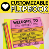 Parent Handbook Flipbook  *New and Improved Version *{EDITABLE)