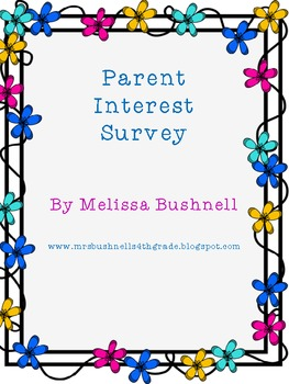 Parent Interest Survey