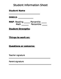 Parent Teacher Conferences Template