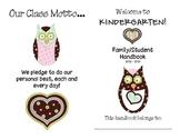 Parent and Student Classroom Handbook