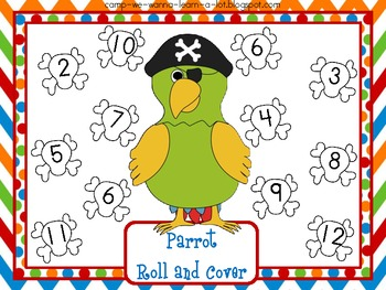 Parrot Roll & Cover Freebie