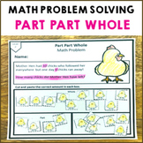 Part Part Whole Math Problem Solving Activity Pack 12 Shee