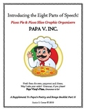 Parts Of Speech & PAPA V INC. Graphic Organizers To Go!