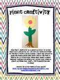 Parts of a Plant Craftivity
