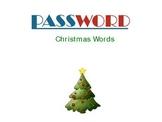 Password: Christmas Words