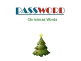 Password: Christmas Words