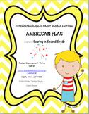 Patriotic Flag Hundreds Chart Hidden Picture Set 2